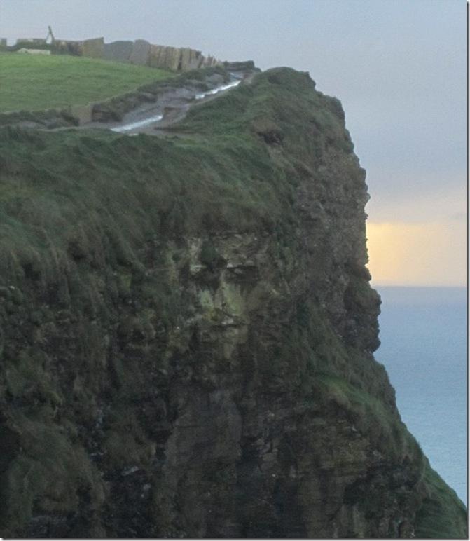 "RostoCristonaIrlanda thumb ""Rosto de Cristo"" é visto em penhasco na Irlanda"